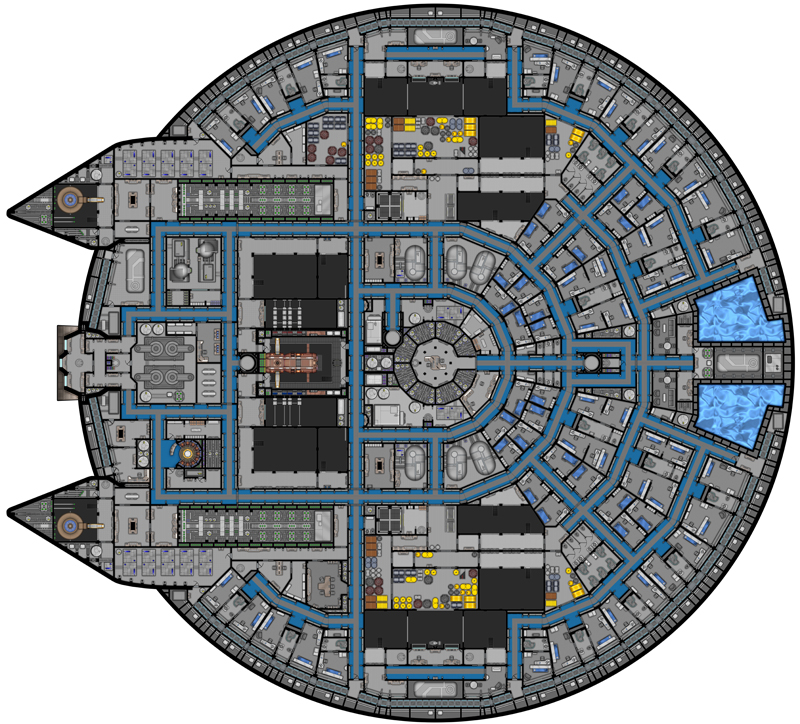 Galactica deck plans Images Frompo 1