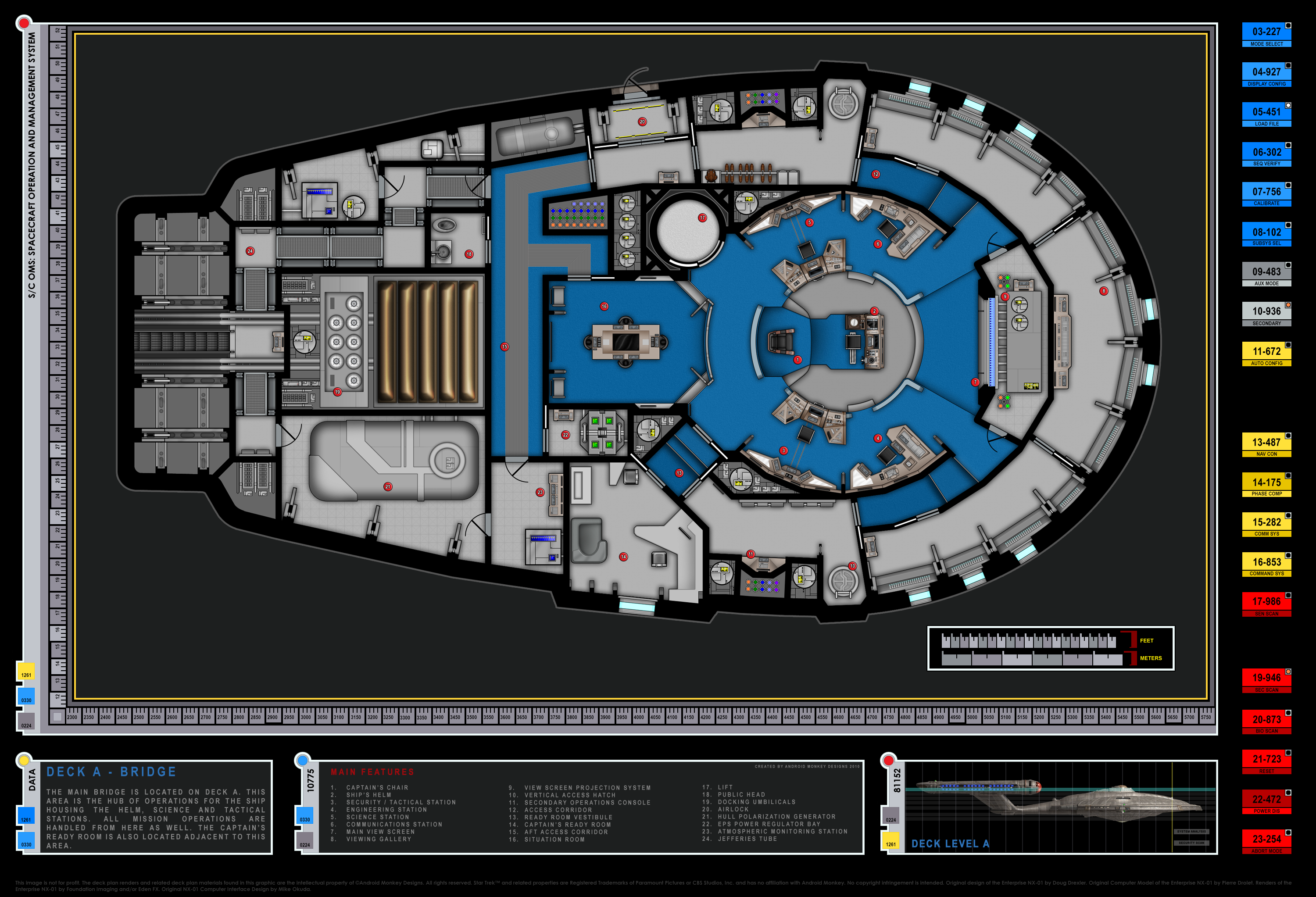 The Enterprise Project Download Page on cylon fighter schematics, starbase schematics, mecha schematics, space schematics, train schematics, macross sdf-1 schematics,