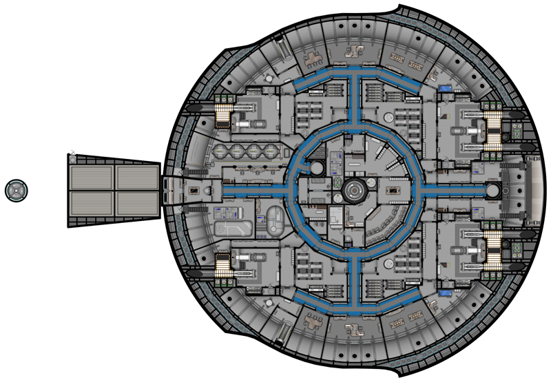 sci fi space stations deck plans - photo #4